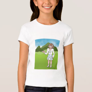 Amber, anime art gallery character tees