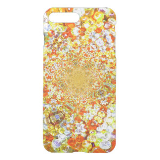 Amber Glass Crystals Bubbles Jewel Effect iPhone 7 Plus Case