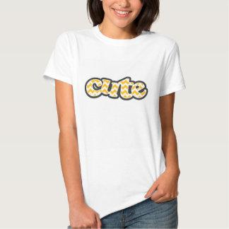 Amber Yellow Chevron; zig zag T-shirts