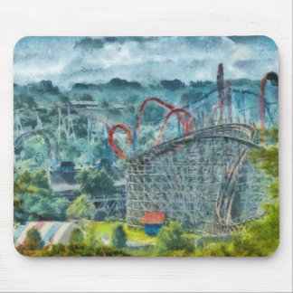Americana - The thrill ride Mouse Pad