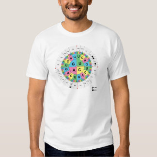 Amino Acid Base Sequence Table Diagram T-shirt