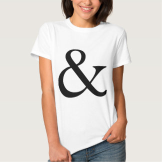 Ampersand Tshirts