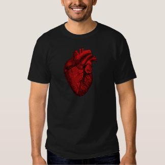 Anatomical Human Heart Tees