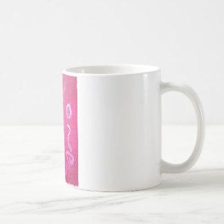 Ancient Abstract Candle Basic White Mug