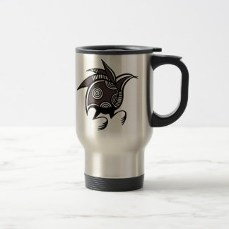 Ancient Cypriot bird motif tumbler Stainless Steel Travel Mug