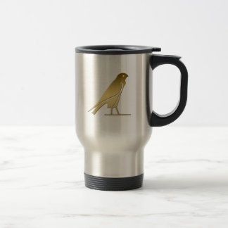 Ancient Egyptian bird – goddess Nekhbet Stainless Steel Travel Mug