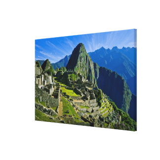Ancient Machu Picchu, last refuge of the 2 Gallery Wrap Canvas