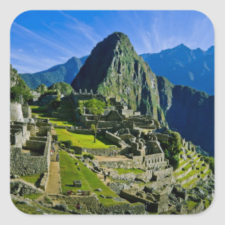 Ancient Machu Picchu, last refuge of the 2 Square Sticker