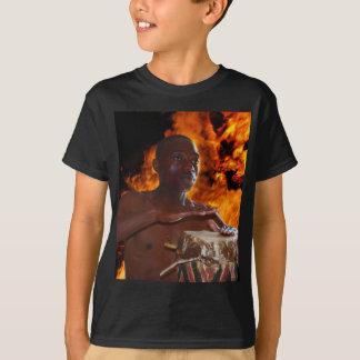 Ancient Warrior Drumbeats T-shirt