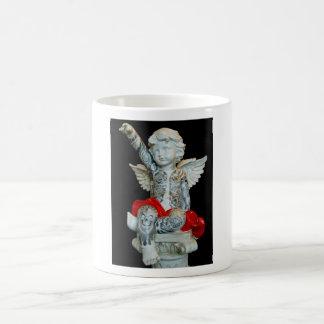angel basic white mug