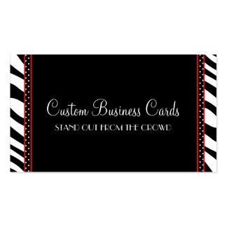 Animal Print Dot Pack Of Standard Business Cards