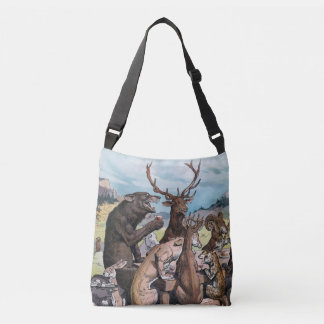 Animals Celebrate With A Feast - J. S. Pughe Tote Bag