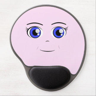 Anime Girl Gel Mouse Pad