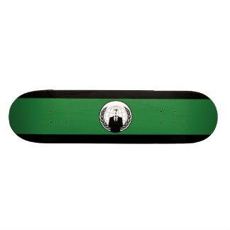 Anonymous Flag Skateboard Mini