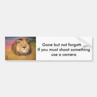 anti-hunting bunper sticker bumper sticker