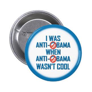 Anti Obama 6 Cm Round Badge