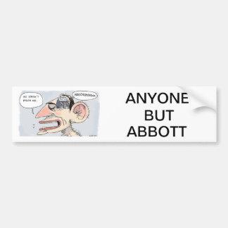 Anti Tony Abbott Bumper Sticker