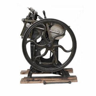 antique letterpress photo sculpture