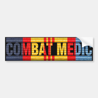 ANZAC Vietnam Medal COMBAT MEDIC Sticker Bumper Sticker