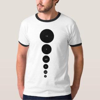 Aperture diagram tshirts