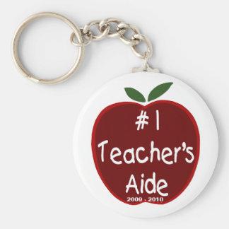 Apple For Teacher's Aide Key Chain