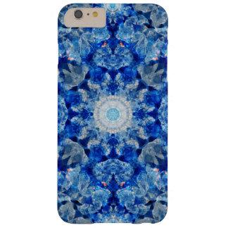 Aqua Crystal Mandala Barely There iPhone 6 Plus Case