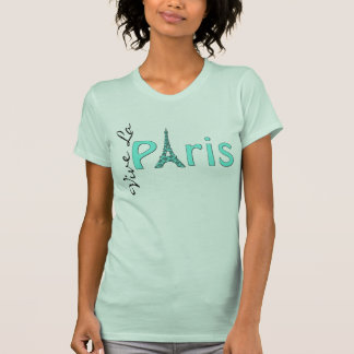 Aqua Paris Eiffel Tower T-Shirt