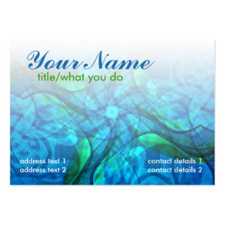 Aquariusoul Profile Card Pack Of Chubby Business Cards