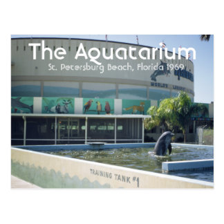 Aquatarium St. Pete Beach Florida Postcard