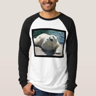 Arctic Polar Bear Men's Long Sleeve T-Shirt
