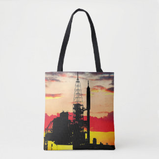 Ares IX Rocket Launch System Tote Bag