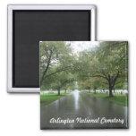 Arlington National Cemetery Square Magnet