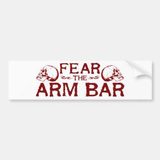 Arm Bar Bumper Sticker