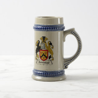 Armistead Coat of Arms Stein - Family Crest Beer Steins