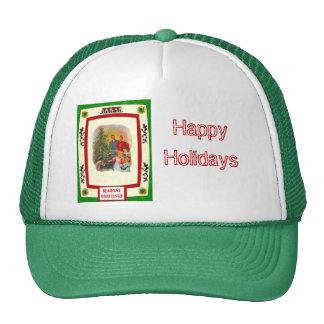 Around the Christmas Tree Cap