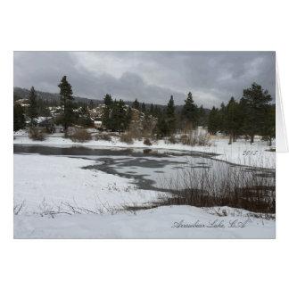 Arrowbear Lake, CA 2015 Greeting Card