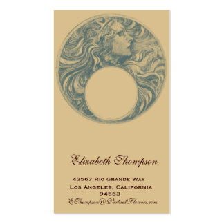 Art Nouveau Queen Business or Name Card Pack Of Standard Business Cards