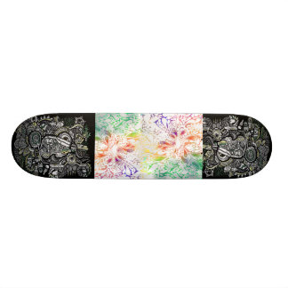 art scate board style skate board decks