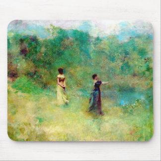 Art Summer 1890s Mousepad