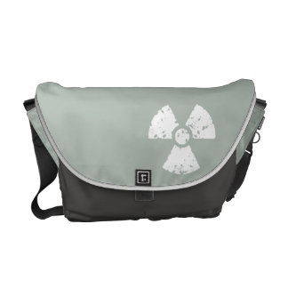 Ash Gray Radioactive Messenger Bag