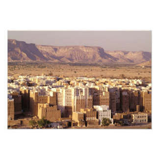 Asia, Middle East, Republic of Yemen. Shibam Photo