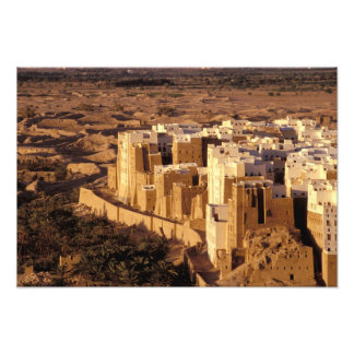 Asia, Middle East, Republic of Yemen, Shibam Photographic Print