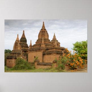 Asia, Myanmar Burma), Bagan Pagan). Various Poster