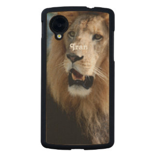 Asiatic Lion of Iran Carved® Maple Nexus 5 Case