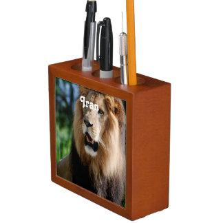 Asiatic Lion of Iran Pencil/Pen Holder