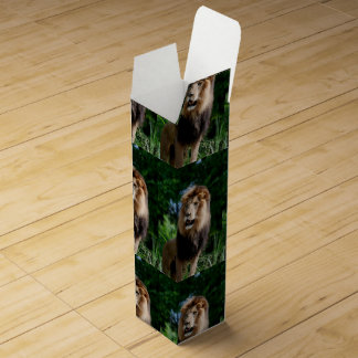 Asiatic Lion of Iran Wine Bottle Boxes