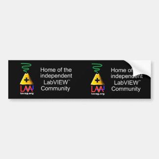 Asynchronous Avatar Advertisers Bumper Sticker