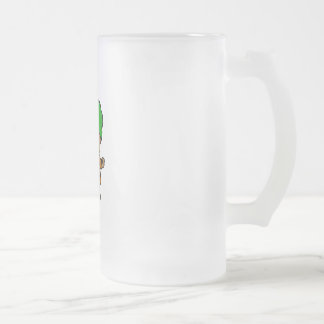 Attorney 1 frosted glass mug