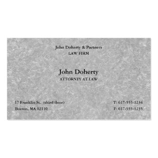 Attorney at Law | Scales of Justice Pack Of Standard Business Cards