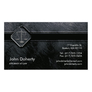 ATTORNEY AT LAW | Unique Pack Of Standard Business Cards